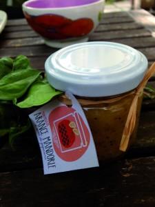 Marmellata di Arancia, mandorle e semi di papavero